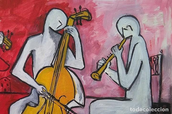 Arte: Antolín MONTIEL.Oleo sobre cartón - Foto 3 - 139122890