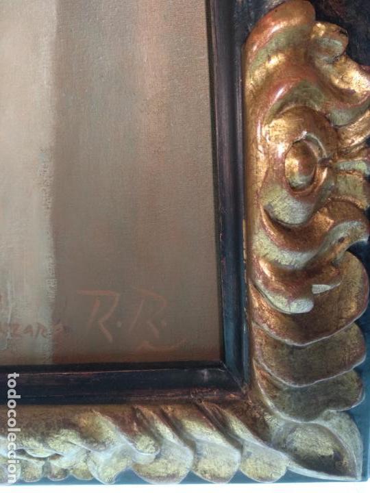 Arte: MUY BELLO OLEO SOBRE LIENZO DE MUJER ALADA - FIRMADO POR EL PINTOR CUBANO LAZARO REYNALDO RODRIGUEZ - Foto 11 - 139206886