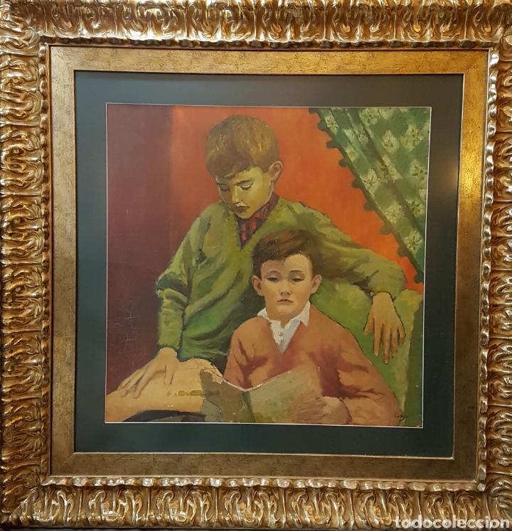 RETRATO DE NIÑOS (Arte - Pintura - Pintura al Óleo Moderna sin fecha definida)