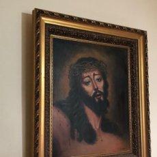 Arte: OLEO J. VIZCAÍNO. F GRAN TAMAÑO 84X73CM. Lote 139215310