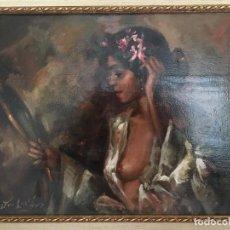 Arte: MUJER ANTE EL ESPEJO DE JOLOGA. Lote 139217138