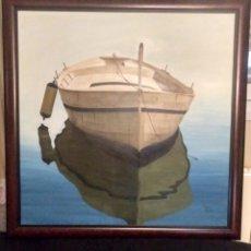 Arte: JORGE DUARTE. PINTOR ARGENTINO . OLEO SOBRE LIENZO. FANTÁSTICA OBRA.. Lote 139237642