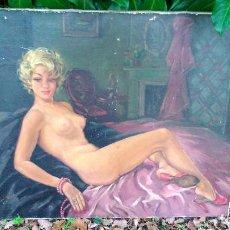 Art: EXTRAORDINARIO ÓLEO DE JUBANY DEL AÑO 1956 POR SÓLO DOSCIENTOS OCHENTA EUROS. Lote 139307886
