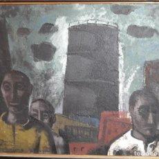 Arte: VILLASEÑOR EL GASOMETRO. Lote 139324614