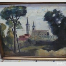 Arte: OLEO SOBRE TELA J.ASENSIO MARINE. Lote 139420914