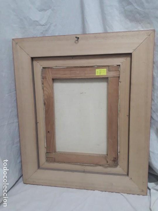 Arte: Magnifico cuadro pintura al oleo sobre tela Claustro firmado Vipla - Foto 10 - 160559794