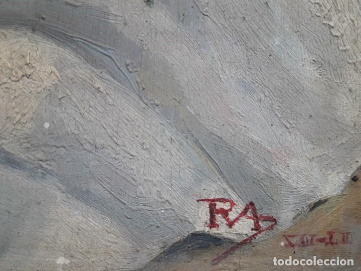 Arte: OLEO SOBRE TABLA. BODEGÓN 1952 - Foto 4 - 139594234