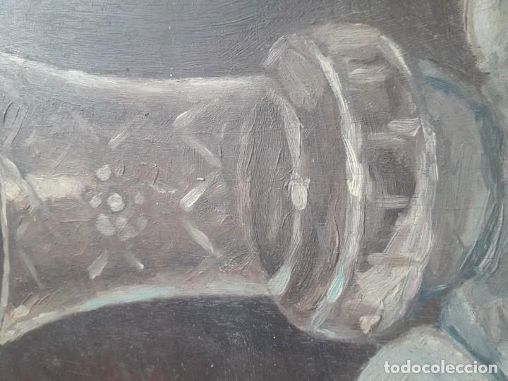 Arte: OLEO SOBRE TABLA. BODEGÓN 1952 - Foto 6 - 139594234