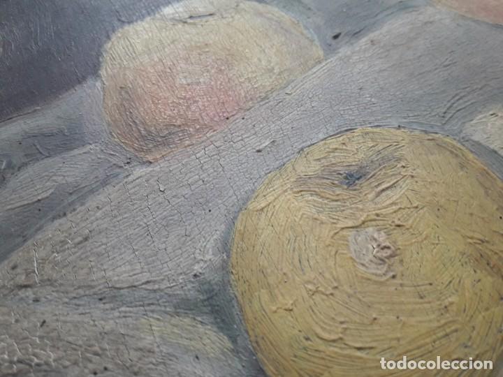 Arte: OLEO SOBRE TABLA. BODEGÓN 1952 - Foto 7 - 139594234