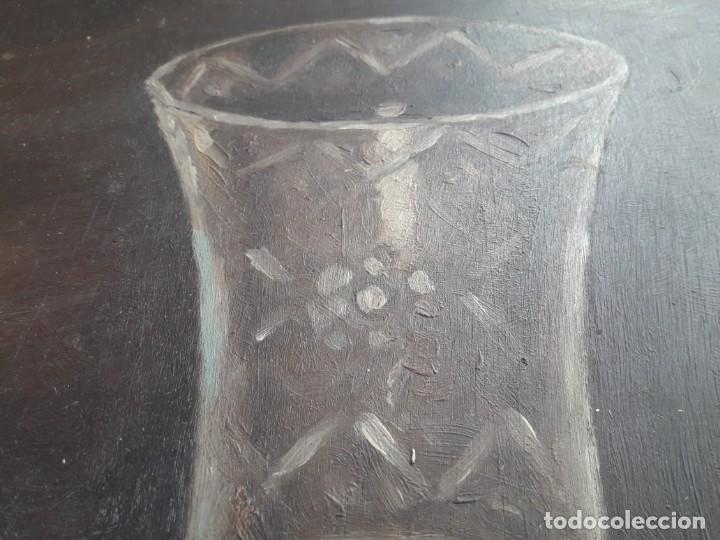 Arte: OLEO SOBRE TABLA. BODEGÓN 1952 - Foto 10 - 139594234