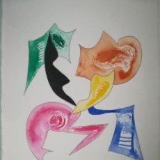 Arte: LÁMINA ARTE ORIGINAL OCASIÓN BARATA HOMENAJE KANDINSKY. Lote 139724694
