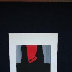Arte: ANTONI AMAT 1960. OLEO SOBRE PAPEL, FIRMADO .. Lote 139740446