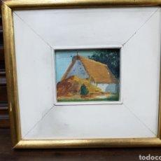 Arte: MARCO CON OLEO ORIGINAL VALENCIANO. Lote 139818921