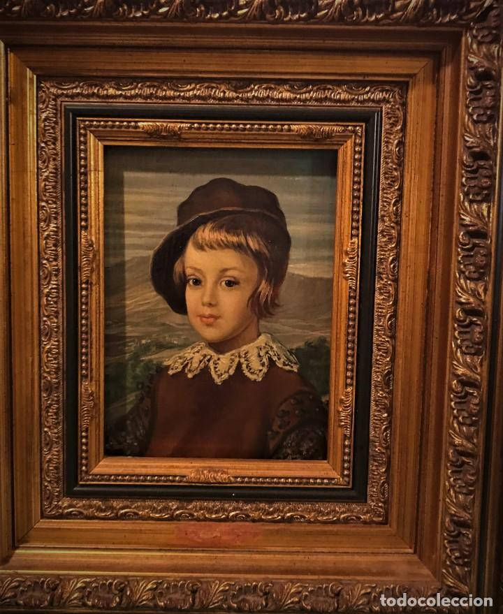 Arte: retrato principe baltasar carlos, siguiendo modelos de velazquez - Foto 3 - 139889494