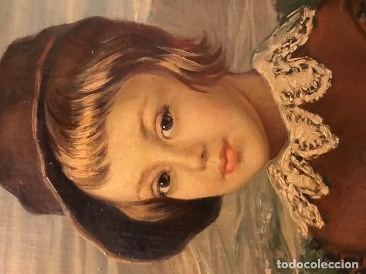 Arte: retrato principe baltasar carlos, siguiendo modelos de velazquez - Foto 5 - 139889494