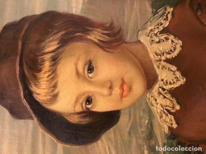 Arte: retrato principe baltasar carlos, siguiendo modelos de velazquez - Foto 6 - 139889494