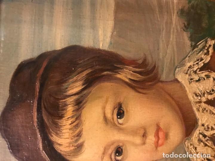 Arte: retrato principe baltasar carlos, siguiendo modelos de velazquez - Foto 8 - 139889494