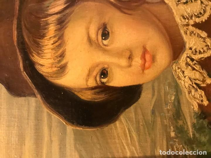 Arte: retrato principe baltasar carlos, siguiendo modelos de velazquez - Foto 9 - 139889494
