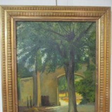Arte: ANTONI ROS Y GÜELL (1877-1954) - BONITO PAISAJE - ÓLEO SOBRE TELA - PRINCIPIOS S. XX. Lote 139925106
