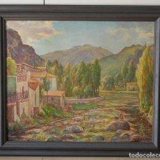 Arte: RAMON PALMAROLA ROMEU ( BARCELONA, 1877 - 1954 ) - PAISAJE CATALÁN DE MONTAÑA. Lote 139939146