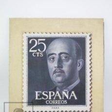 Arte: ÓLEO SOBRE LIENZO - ANTONIO GÓMEZ FEU, AYAMONTE - SELLO FRANCO, Nº EDIFIL 1146 VIOLETA NEGRO, 25 CTS. Lote 139984946