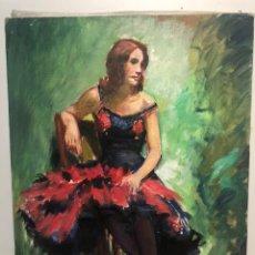 Arte: OLEO SOBRE TELA ATRIBUIBLE A LLOBET Y RIBAS .. Lote 139991781