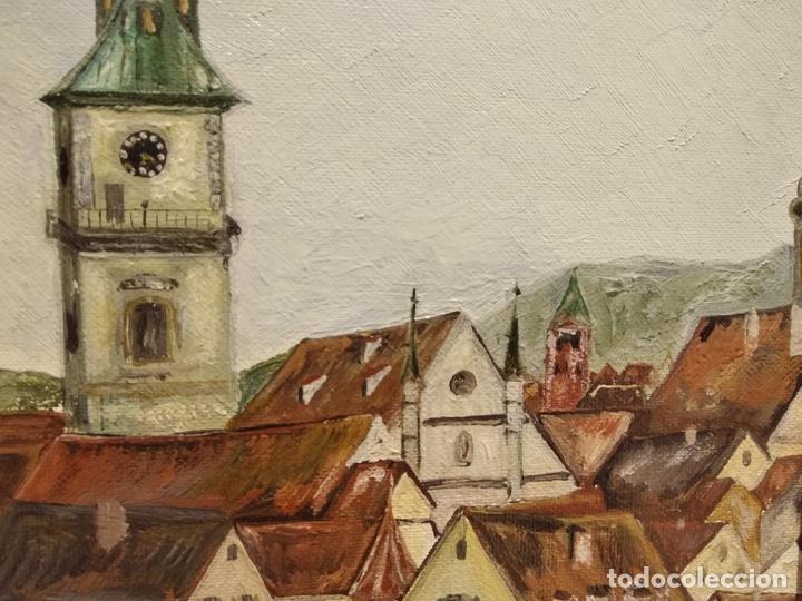 Arte: Bonito óleo sobre lienzo, firmado - Foto 2 - 140058906