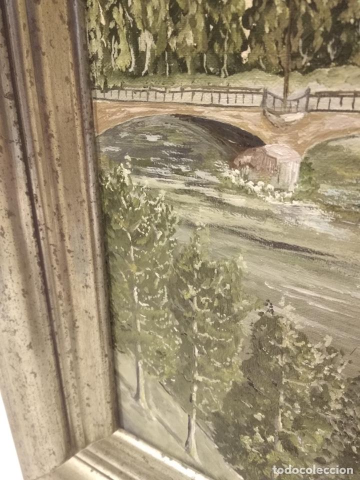 Arte: Bonito óleo sobre lienzo, firmado - Foto 5 - 140058906