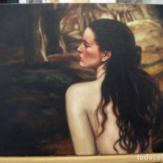 Arte: OLEO FIRMADO GREY. Lote 140059802