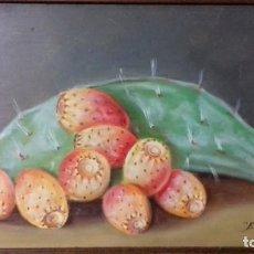 Arte - ENRIQUE MONTES. OLEO SOBRE TABLA ( 32x20,5). BODEGON DE CHUMBOS. - 140183394