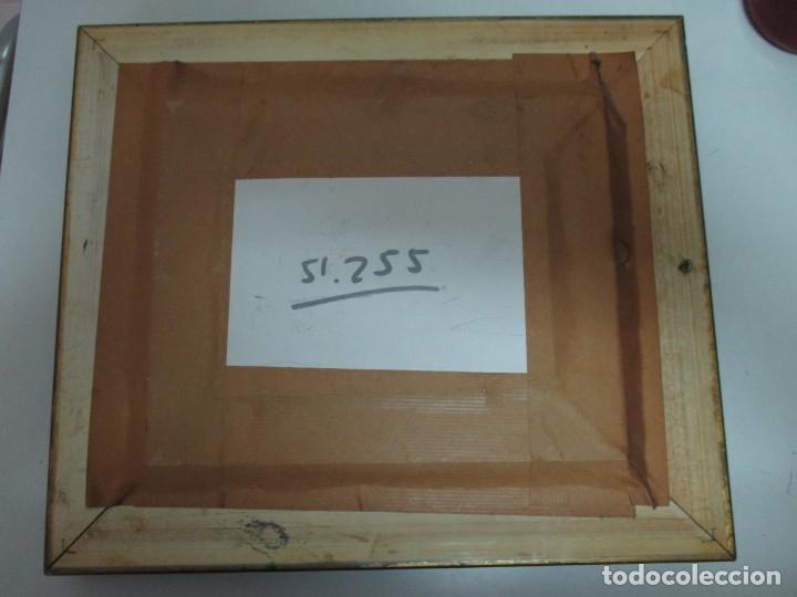 Arte: OLEO SOBRE TABLA.ENMARCADO, FLORES - Foto 5 - 140076514
