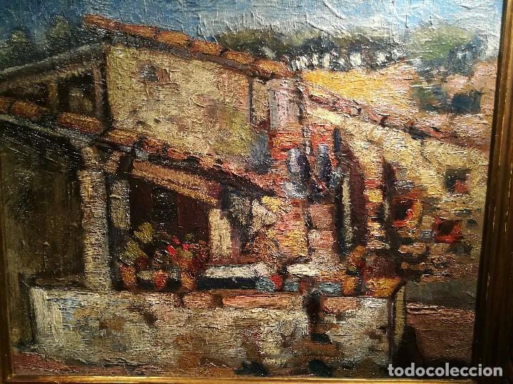 Arte: EL LAVADERO POR J.M.MALLOL SUAZO (1910-86) - Foto 3 - 140302710