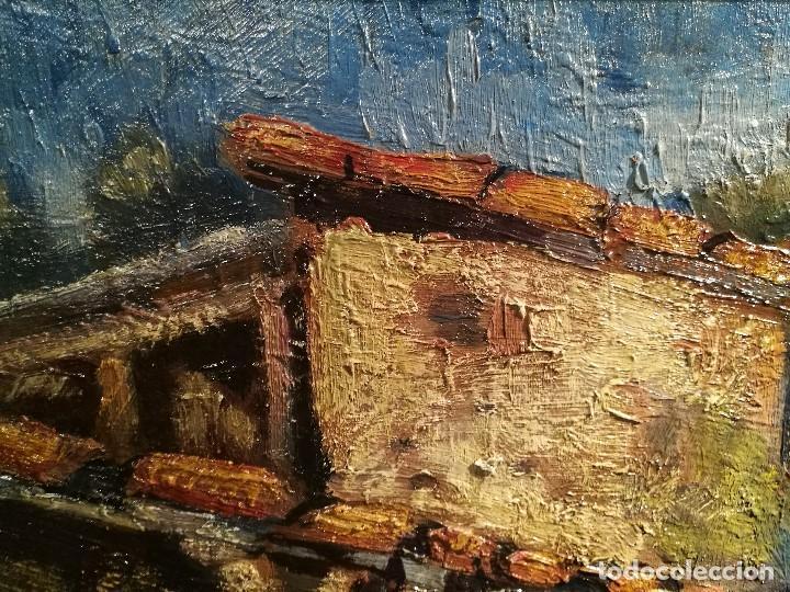 Arte: EL LAVADERO POR J.M.MALLOL SUAZO (1910-86) - Foto 6 - 140302710