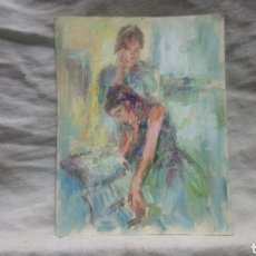 Arte: LAS ESTUDIANTES(GRAN CALIDAD Y MOVIMIENTO ). Lote 140316853