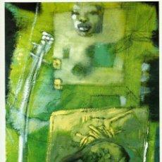 Arte: MICHEL ROVELAS 1939 MAGNIFICA OBRA PINTADA EN FRANCIA O/LIENZO MED 61 X 46CM LES ENFANTS DU DESASTRE. Lote 140319998