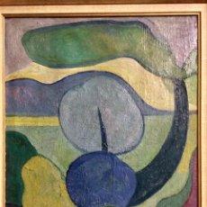 Arte: LAURENT JIMÉNEZ BALAGUER 1928-2015, OLEO EN LIENZO 8F 46X38 CM MÁS MARCO, MUY ANTIGUO,. Lote 140321012