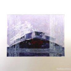 Arte: MANUEL SUÁREZ (A CORUÑA, 1972) TRONCOS. TÉCNICA MIXTA SOBRE CARTULINA. Lote 140383242