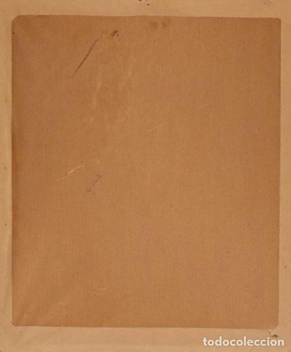 Arte: Santa faz. S. XV-XVI Importante Guadamecí pintado. Escuela española - Foto 4 - 140398848