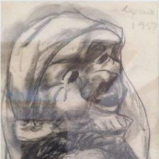Kunst - Laxeiro. Xosé Otero Abeledo. (Lalin, 1908 - Vigo, 1996) Lápiz sobre papel - 140470722