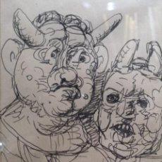 Arte: LAXEIRO. XOSÉ OTERO ABELEDO. (LALÍN, 1908 - VIGO, 1996). TINTA SOBRE PAPEL. Lote 140471542