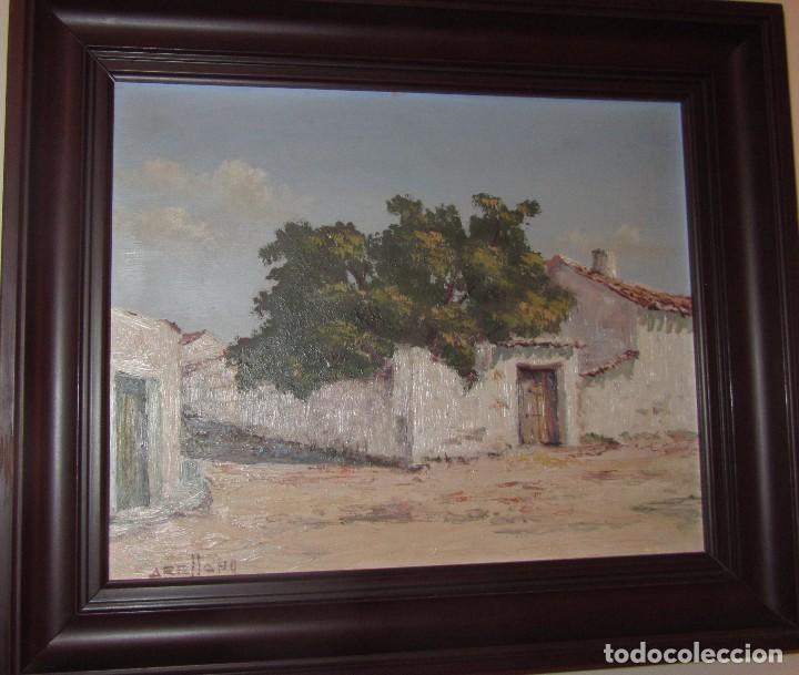 ÓLEO SOBRE TABLA DE ARELLANO (Arte - Pintura - Pintura al Óleo Moderna sin fecha definida)