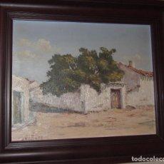 Arte: ÓLEO SOBRE TABLA DE ARELLANO. Lote 140484478
