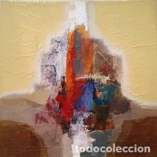 Arte: CUADRO ABSTRACTO DE JOSEP MARFA GUARRO - BARCELONA -. Lote 140492622