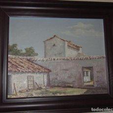 Arte: ÓLEO SOBRE TABLA DE ARELLANO. Lote 140502930