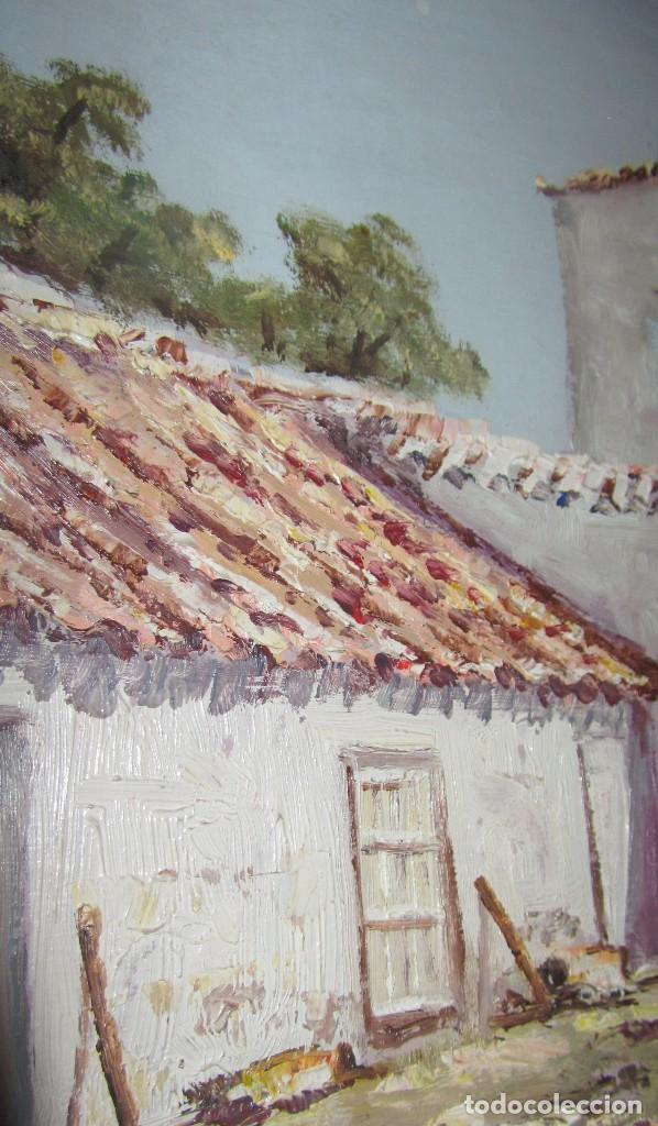 Arte: Óleo sobre tabla de Arellano - Foto 3 - 140502930