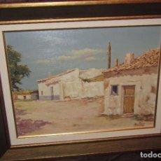 Arte: ÓLEO SOBRE TABLA DE ARELLANO. Lote 140503826