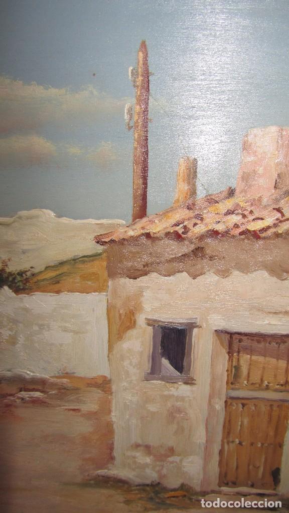 Arte: Óleo sobre tabla de Arellano - Foto 3 - 140503826