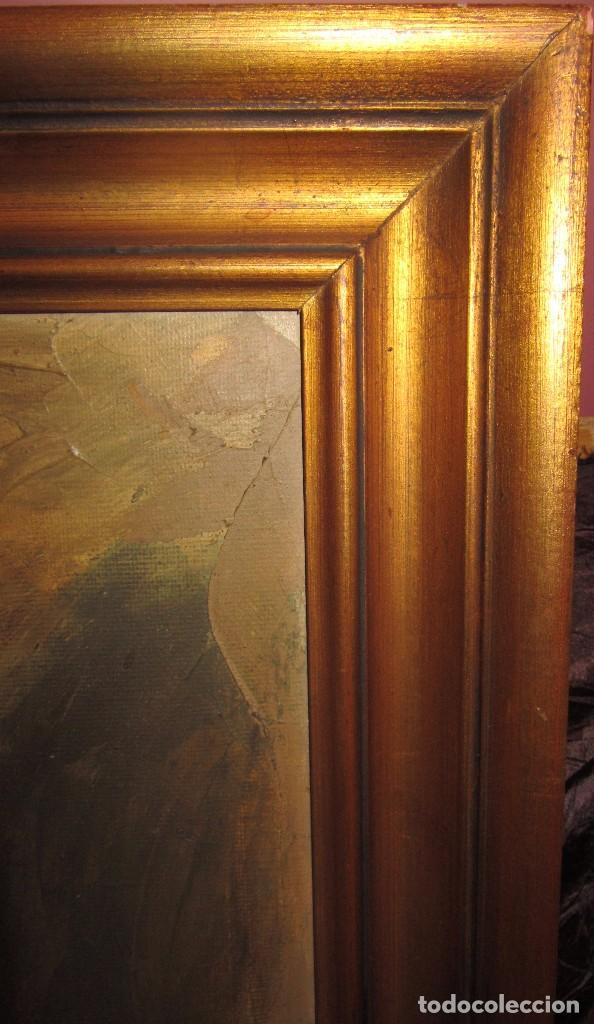 Arte: Óleo sobre lienzo desnudo 77x66 de TORO DE JUANAS - Foto 4 - 140509682