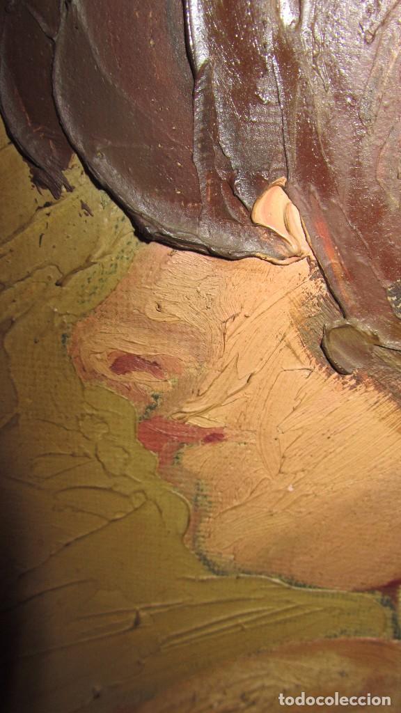 Arte: Óleo sobre lienzo desnudo 77x66 de TORO DE JUANAS - Foto 5 - 140509682