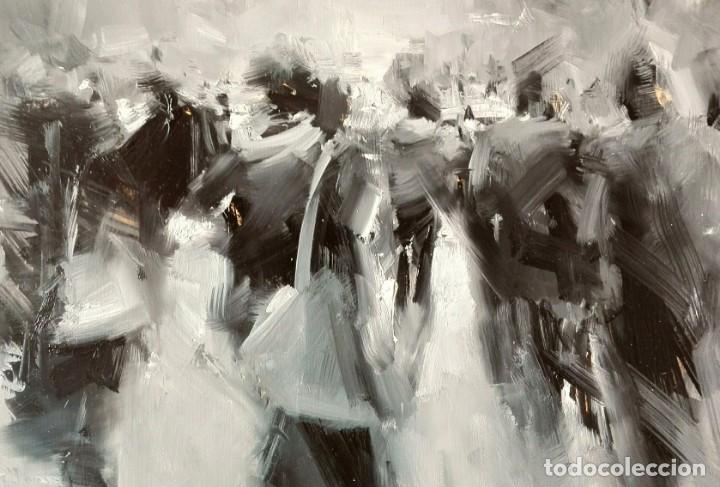 Arte: Oleo sobre Tela. Tibor Nagy. Ghost Town - Ciudad Fantasma - Foto 4 - 140513354